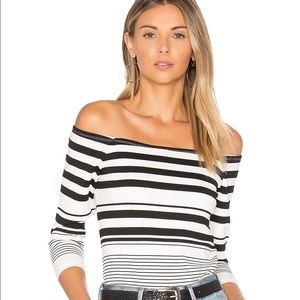 CUPCAKES & CASHMERE Leilani Off Shoulder Top